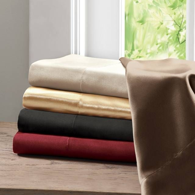 product image for Madison Park Essentials Premier Comfort Satin Sheet Set