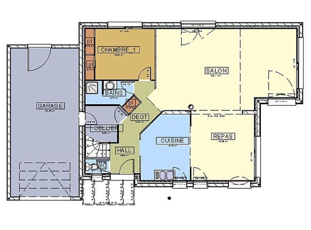 Exemple De Plan D Une Maison - Le Meilleur Exemple