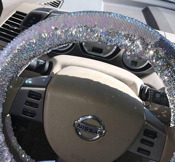 Mermaid Sequin Steering Wheel Cover Steering Wheel Cover Wheel
