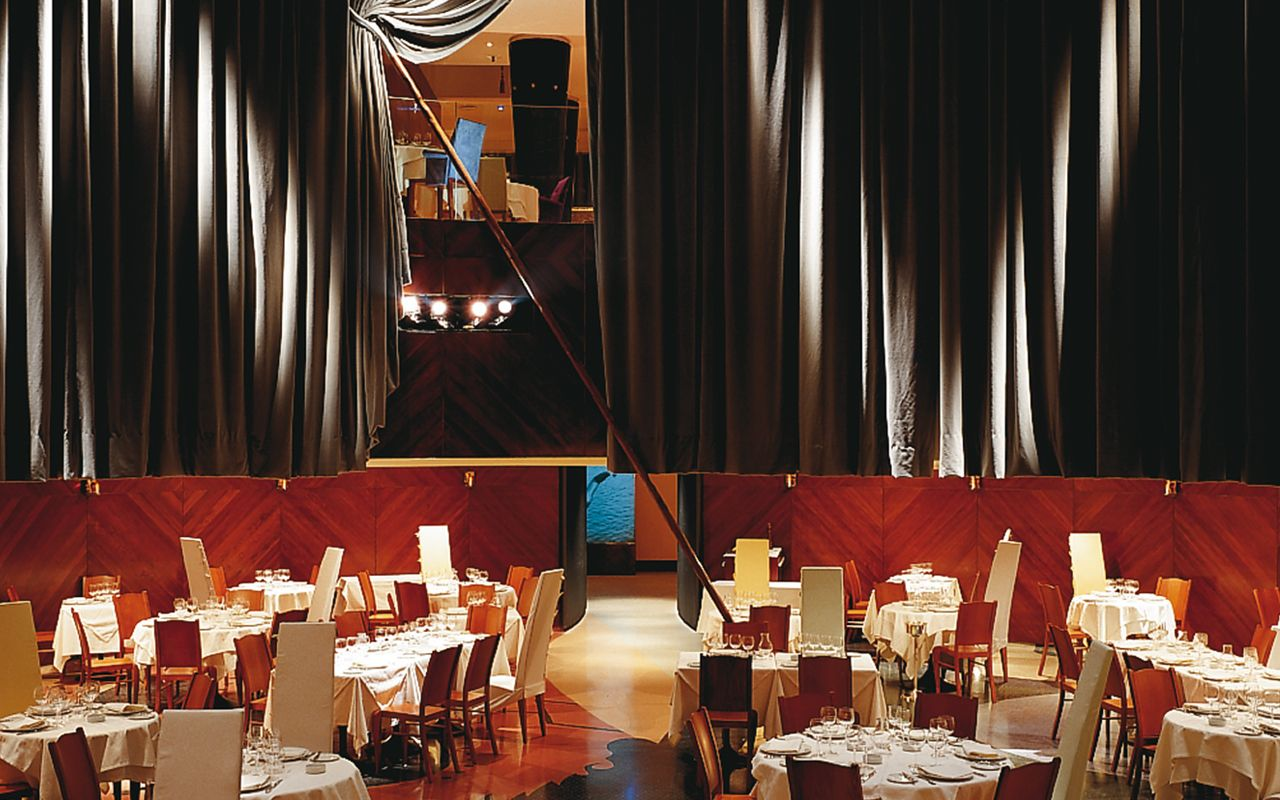 restaurante teatriz madrid starck javier mariscal arnold chan and bruno borrione. Black Bedroom Furniture Sets. Home Design Ideas
