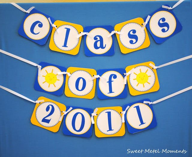 Sweet Metel Moments Brodys Preschool Graduation Party Free Printable