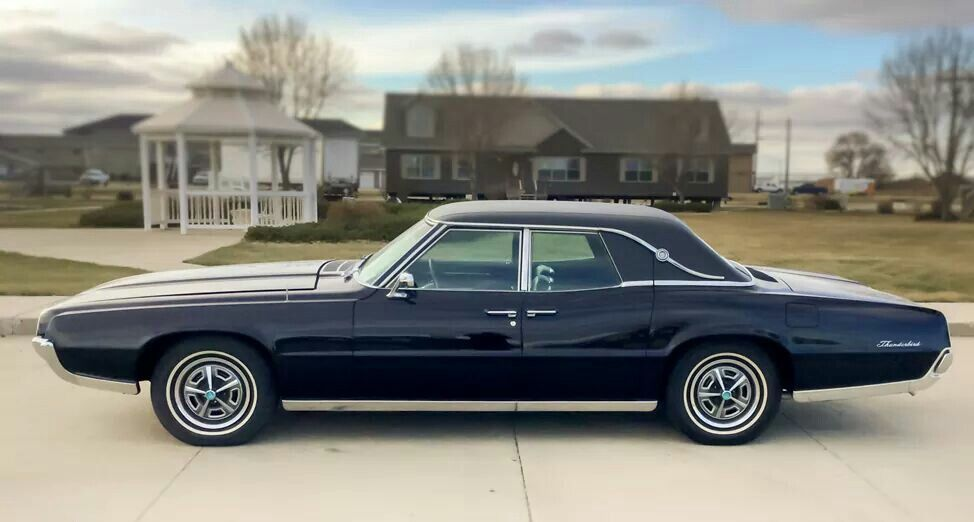 1964 Ford Thunderbird 4 Door Landau With Images Ford