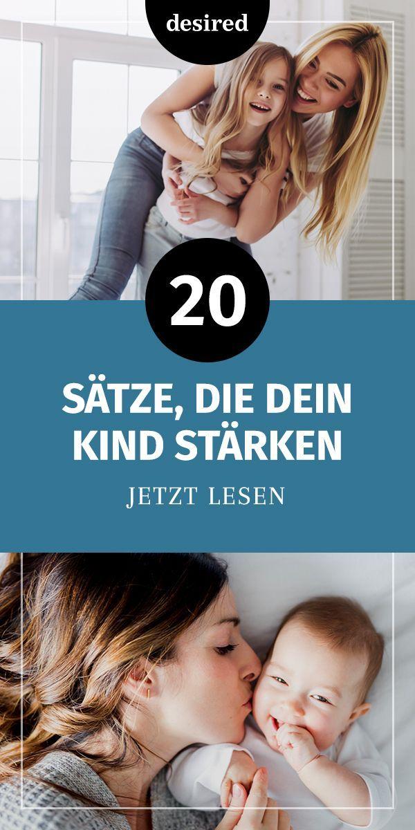 20 Sätze, die du deinem Kind jeden Tag sagen solltest | Wunscht.de