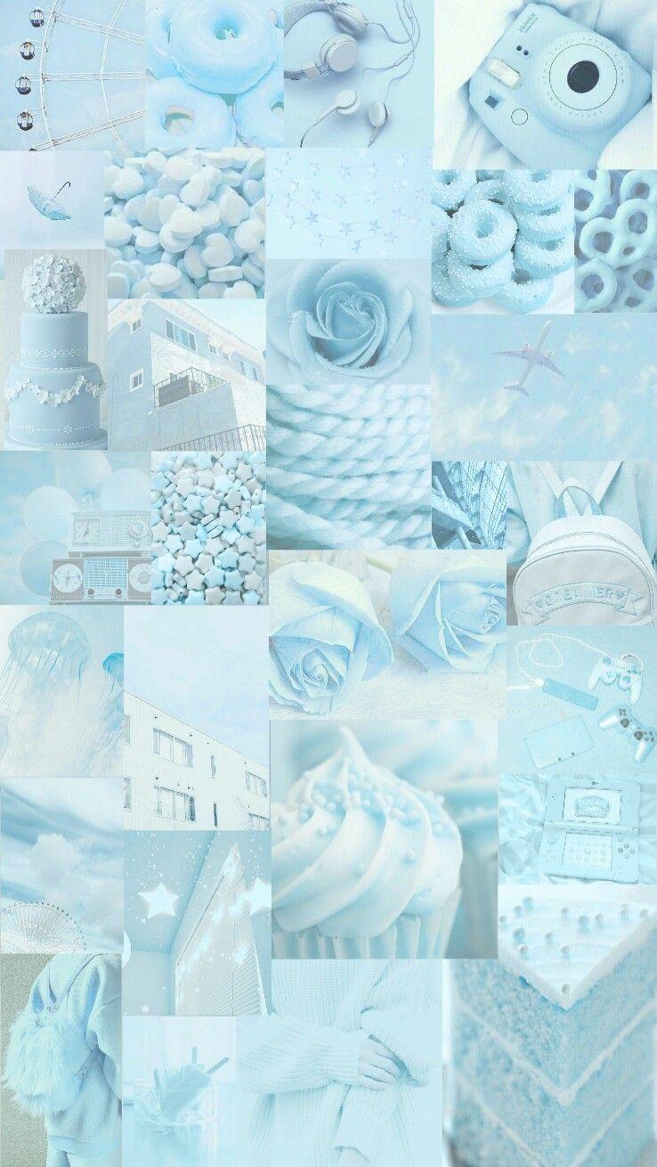 Blue Pastel Wallpaper   Iphone Wallpaper Girly, Pretty Wallpapers, Iphone Wallpaper Vintage 2FB