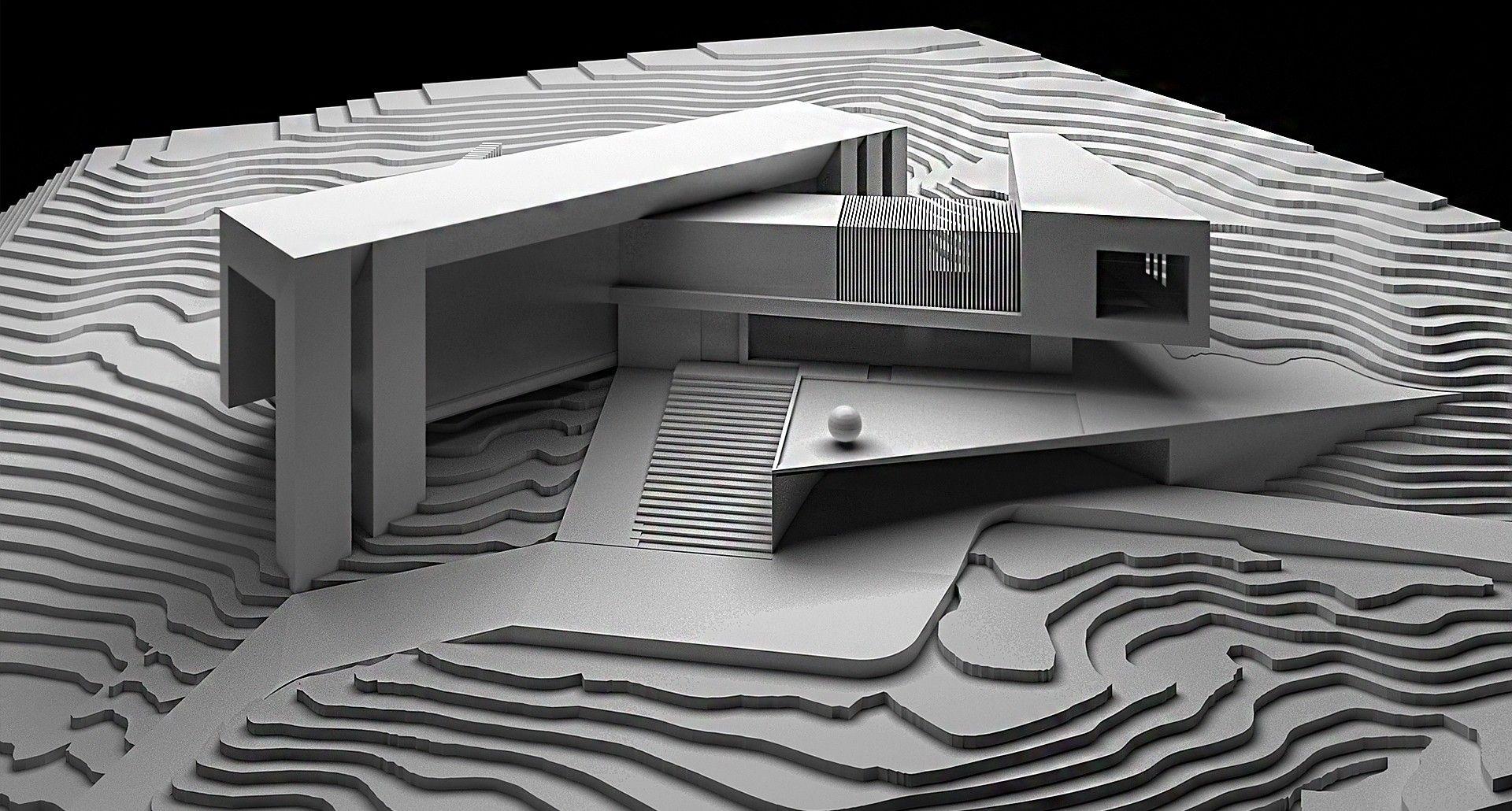 Casa aqua san antonio de texas creato arquitectos - Casas en pendiente ...