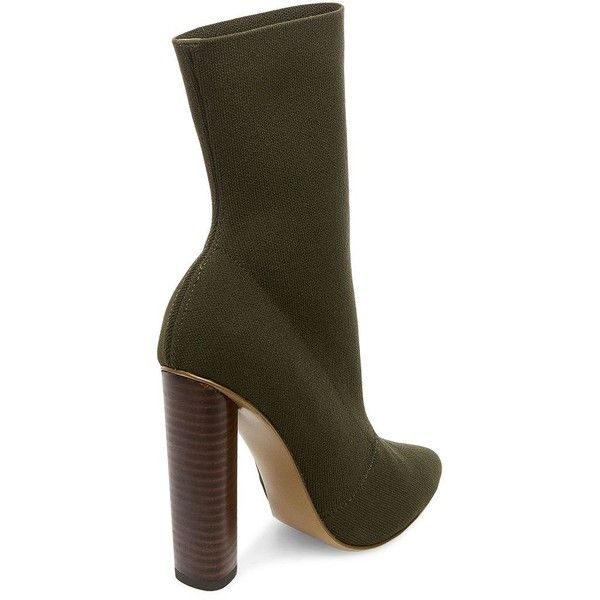 1ed9ee4b8342 Steve Madden Capitol Stretch Mid-Calf Boots (405 BRL) ❤ liked on Polyvore