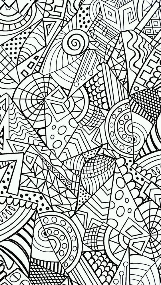 ❤~ Mandala para Colorear ~❤: | dibujos arte terapia | Pinterest ...