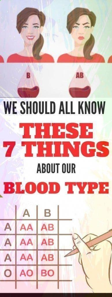 Photo of Wir sollten alle diese 7 Dinge über unsere Blutgruppe wissen! #bloodtypediet