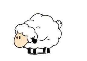 Pin By Leah B On Art Sheep Cartoon Sheep Drawing Sheep Art