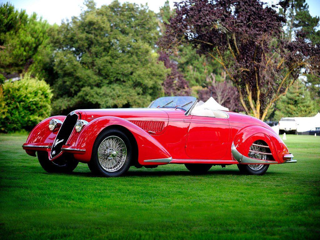Alfa Romeo  U2013 1938 Alfa Romeo 8c 2900b Spider  Touring
