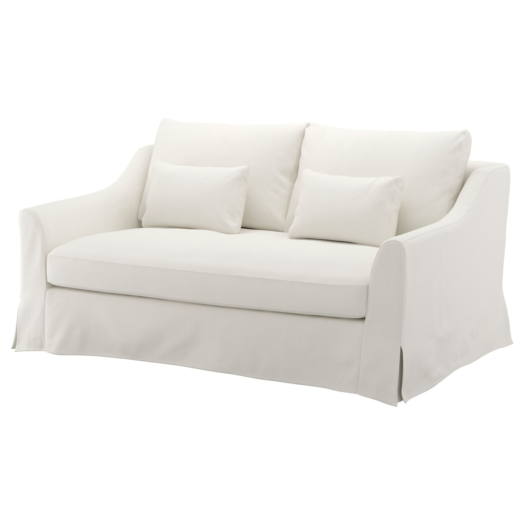 Farlov Loveseat Flodafors White Love Seat Ikea Loveseat White Loveseat