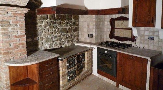 Cucina angolare in muratura | kitchen,cucina, cozinha designer ...