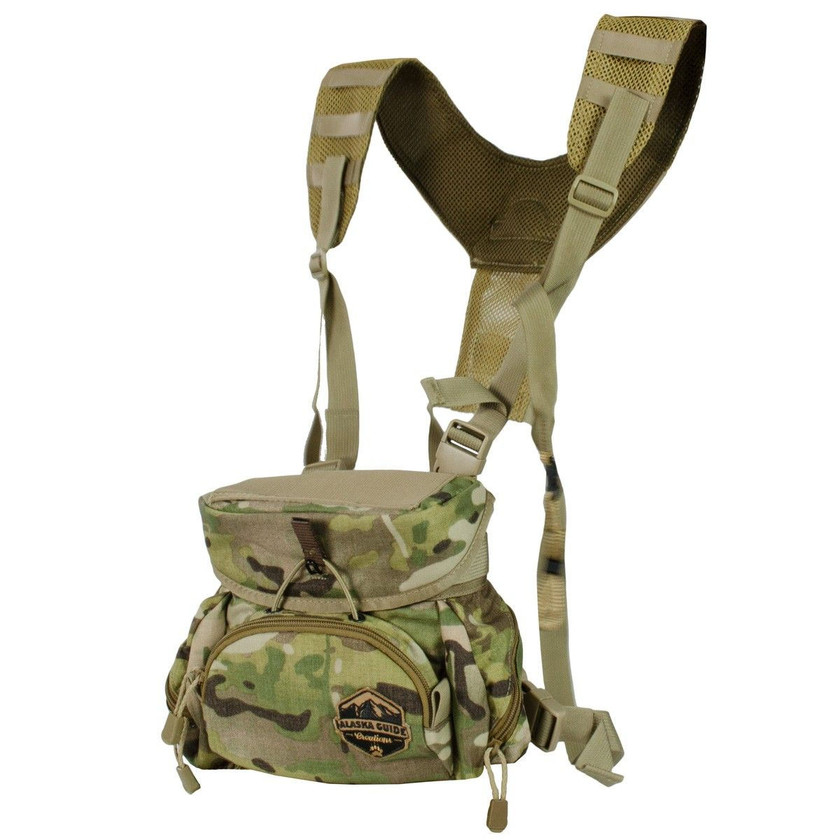 Alaska Guide Creations X50 Classic Bino Harness Multicam