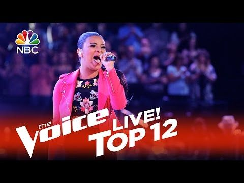 """▶ The Voice 2015 Koryn Hawthorne - Top 12: """"Stronger (What Doesn't Kill You)"""" - YouTube"""