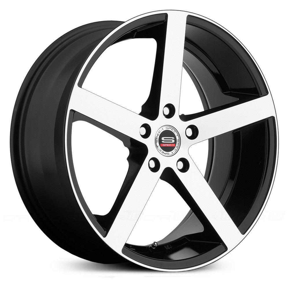 Spec 1 Sp 10 Wheels Rims Wheel And Tire Packages Black Wheels Wheel Rims