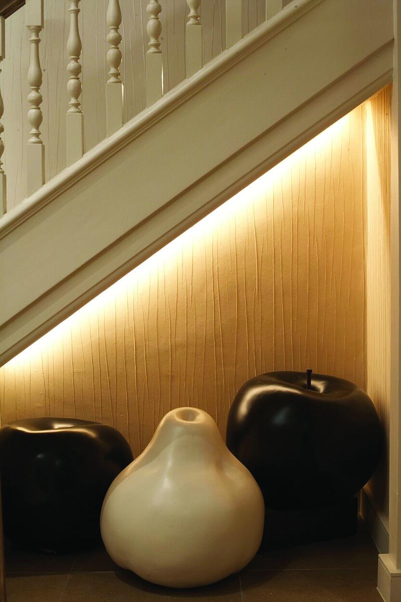 Under Stair Lighting Design By John Cullen Lighting.