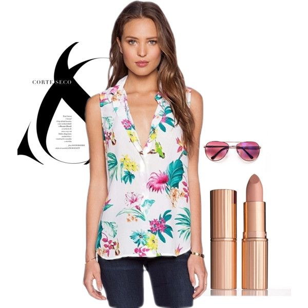 c5eaaacbfb1052 Blouses | BLOUSES | Blouse, Polyvore, Shopping