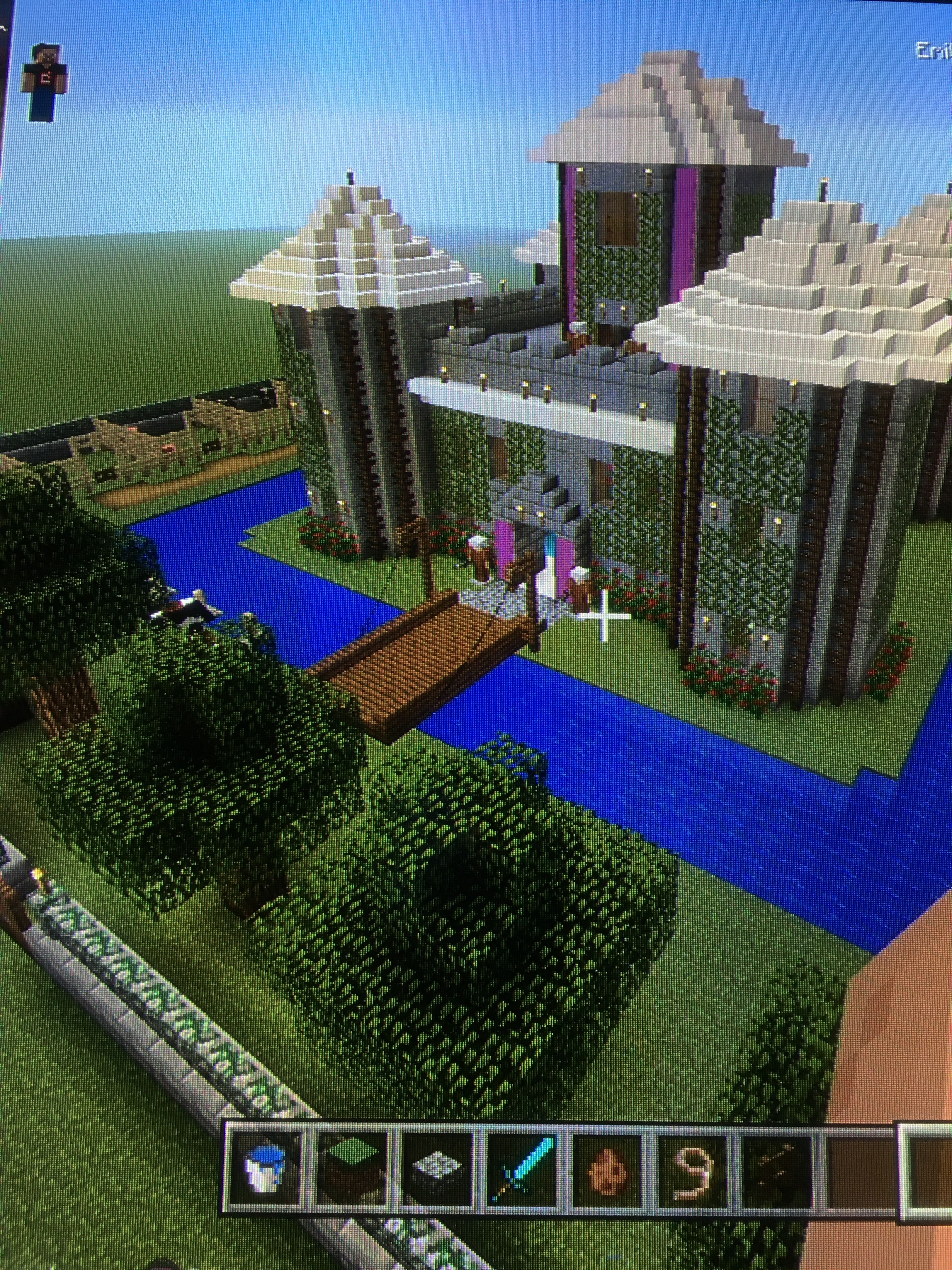 Minecraft Castle  Castle  Gaming  Mincraft Life