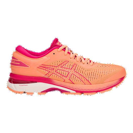 ASICS Women's Gel Kayano 25 Running Shoes Pink Sport