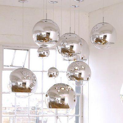 Tom Dixon Mirror Ball #mirrorball #tomdixon http\/\/wwwtomdixon - esszimmer h amp auml ngeleuchte