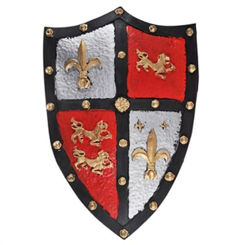 Medieval Dragon Shield Medieval English Crest Knight