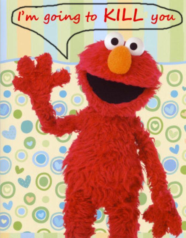Elmos Vaccine Video Is Cutest Argument >> Evil Elmo Favorite Funnies Elmo Elmo Pictures Elmo Party Favors