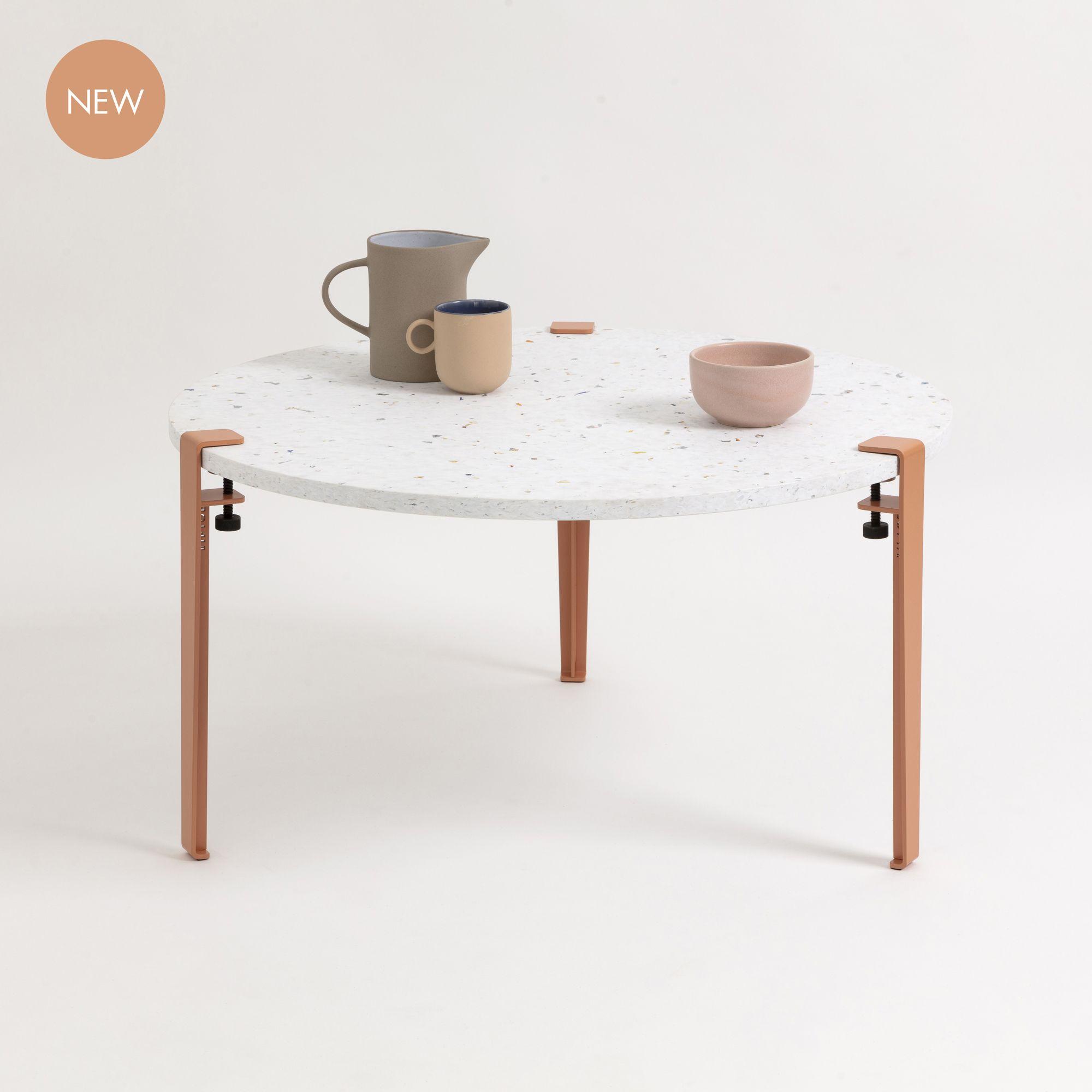 Table Basse En Plastique Recycle Venezia Pieds De Table Tiptoe In 2020 Coffee Table Coffee Table Legs Table