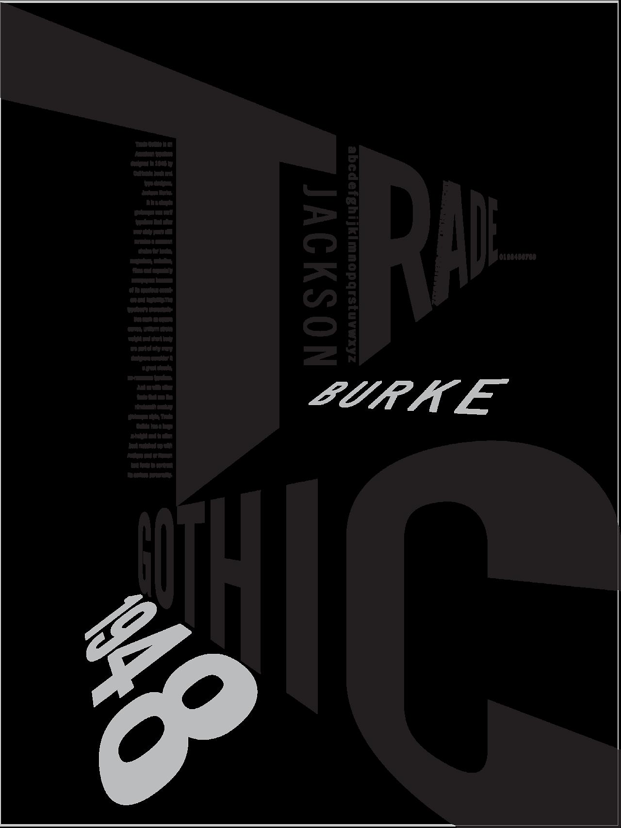 #communication #inspired #designed #gothic #poster #design #trade #pnca #byTrade Gothic inspired poster designed by PNCA... | PNCA Communication Design #posterdesigns