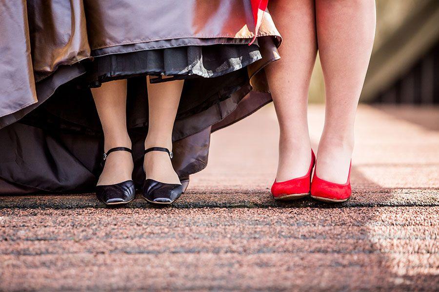 Bruidsschoenen Lesbische bruiloft, Homohuwelijk, Gay Wedding ...