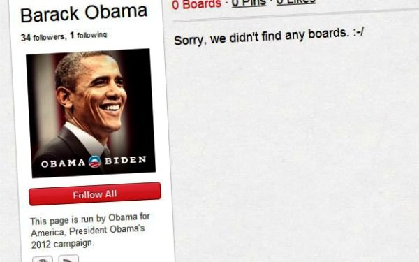Barack Obama - on Pinterest?