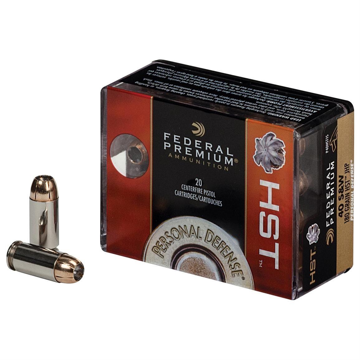 Federal Premium Personal Defense, 9mm, HST, 124 Grain, 20