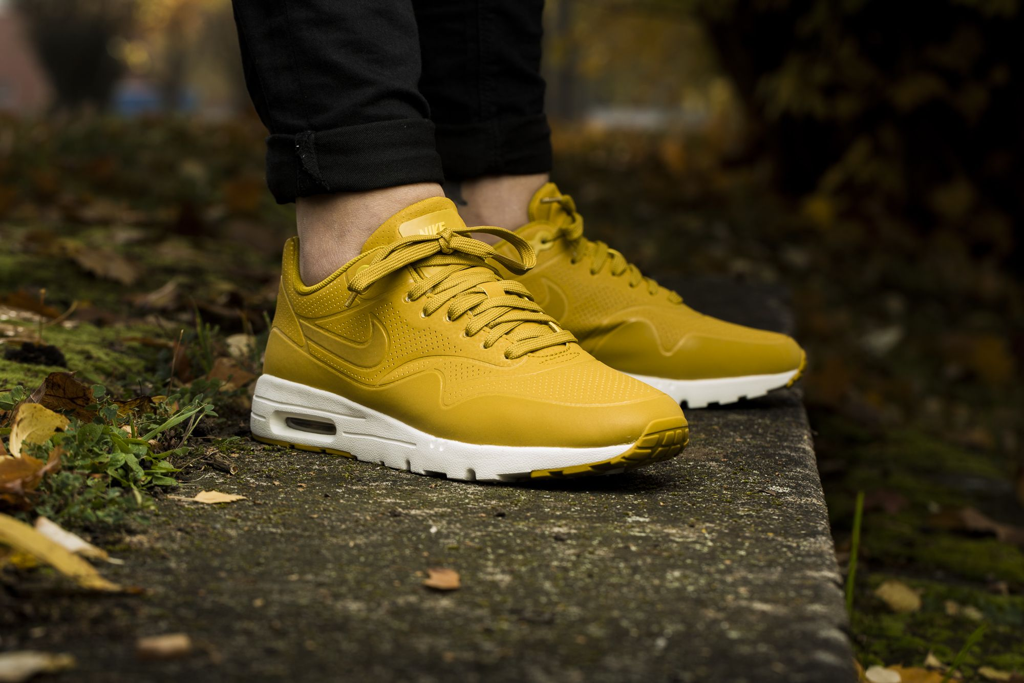 nike air max ultra gelb