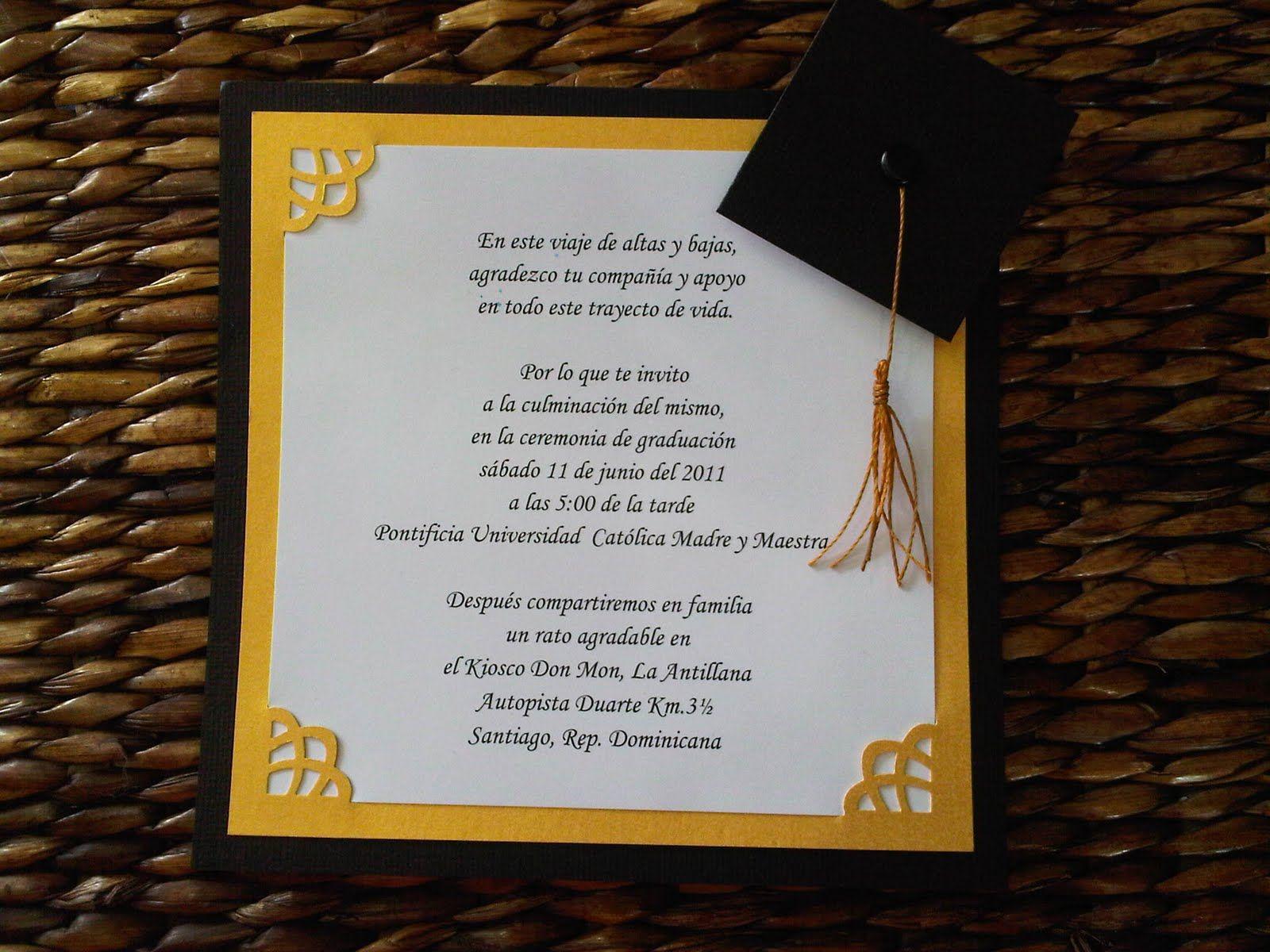 Pin De Jessica Salazar En Graduación Tarjetas De Grado