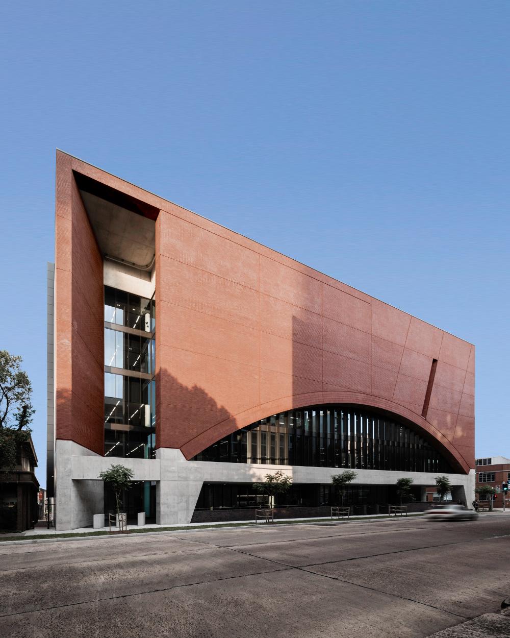 Soaring brick archways define Sydney's new Rail Operations ...