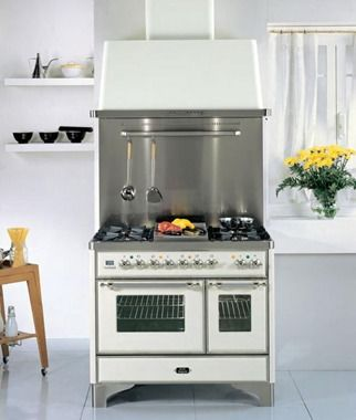 "Ilve Majestic 40"" Dual Fuel Range - UM100  Visit www.hreappliances.com or call us at 267.483.5337 for a custom quote"