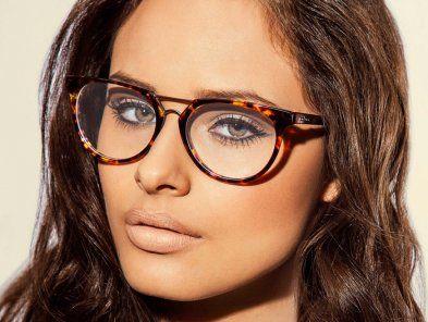Armacao Oculos De Grau Colcci 5533 Marrom Demi Armacoes De