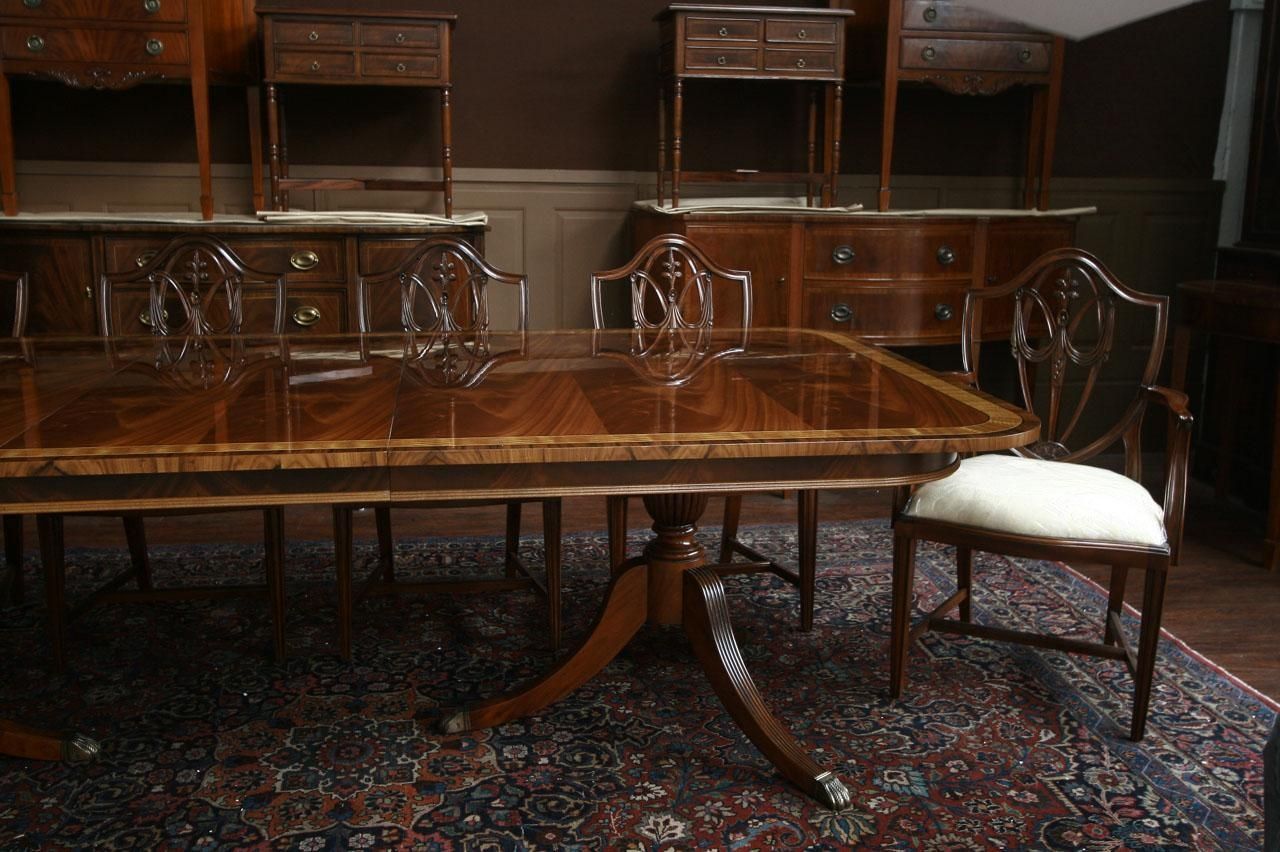 Henredon Dining Room Table And Chairs - Table Design Ideas