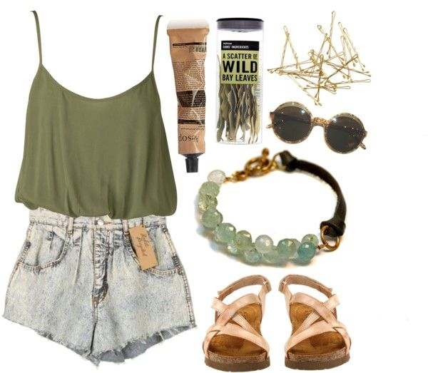 """""""Bay Leaves"""" by burnishedgold ❤ liked on Polyvore"""