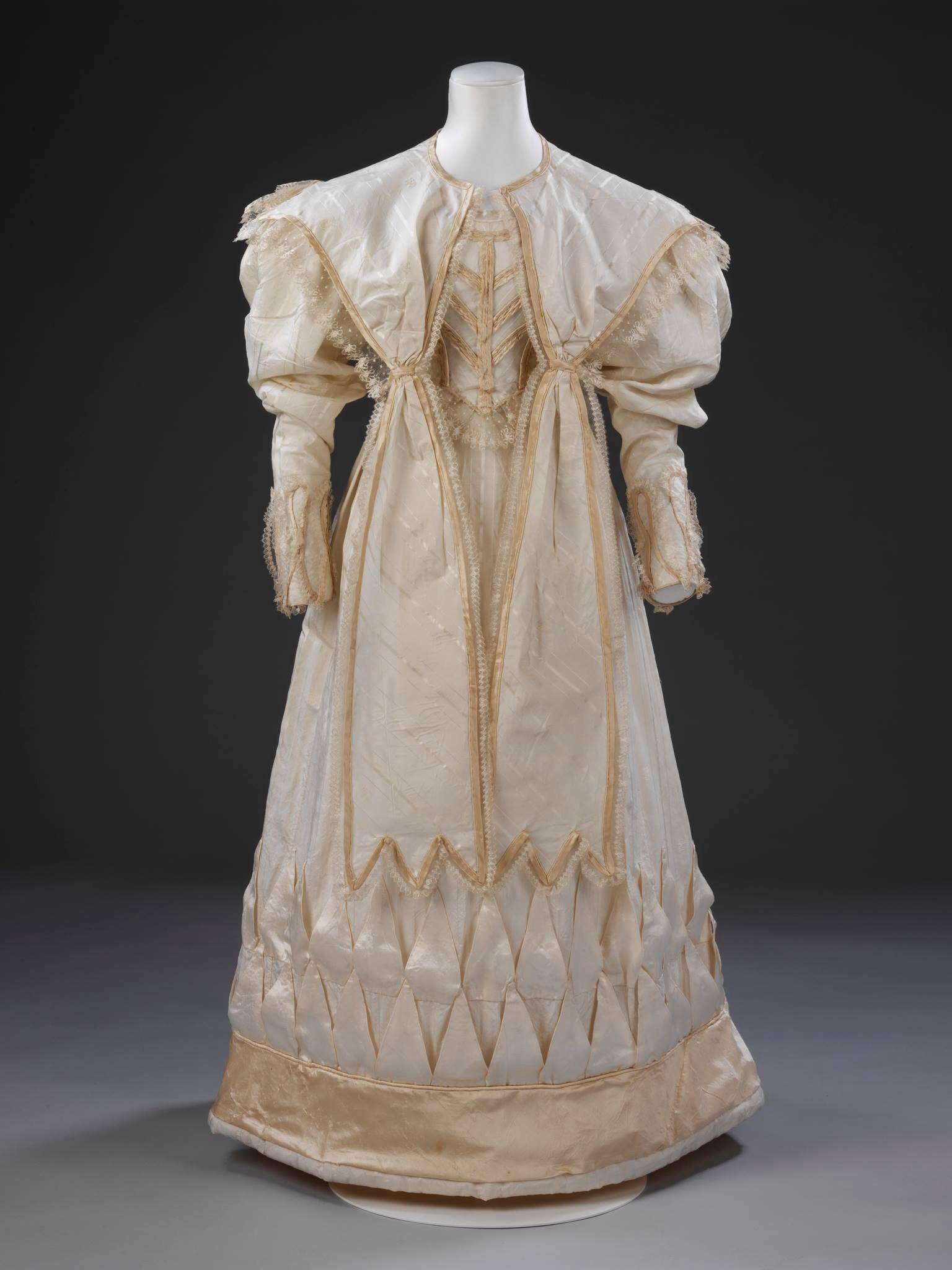 Priscilla of boston wedding dresses  Wedding dress  V u A  Early Victorian  Pinterest  Victorian
