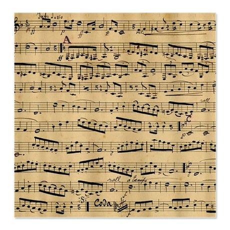 Vintage Sheet Music Shower Curtain By Inspirationz Store Vintage