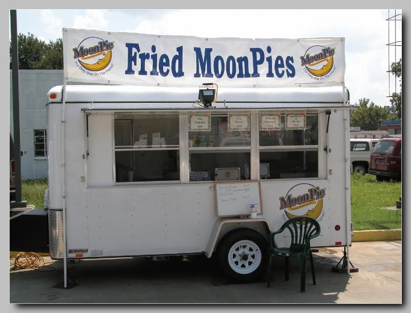 Fried MoonPies at the RC Cola & MoonPie Festival in Bell