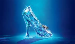 The glass slipper of cinderella!