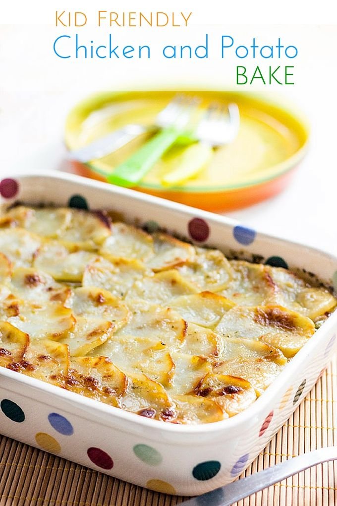 Chicken Potato Bake Healthy Little Foodies Recipe Chicken Potato Bake Chicken Potatoes Baby Food Recipes