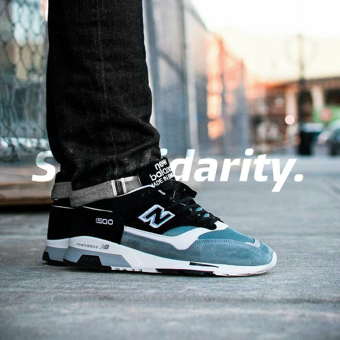 NEW BALANCE 1500 PSK MADE IN ENGLAND BLACK BLUE _____... | Trends ...