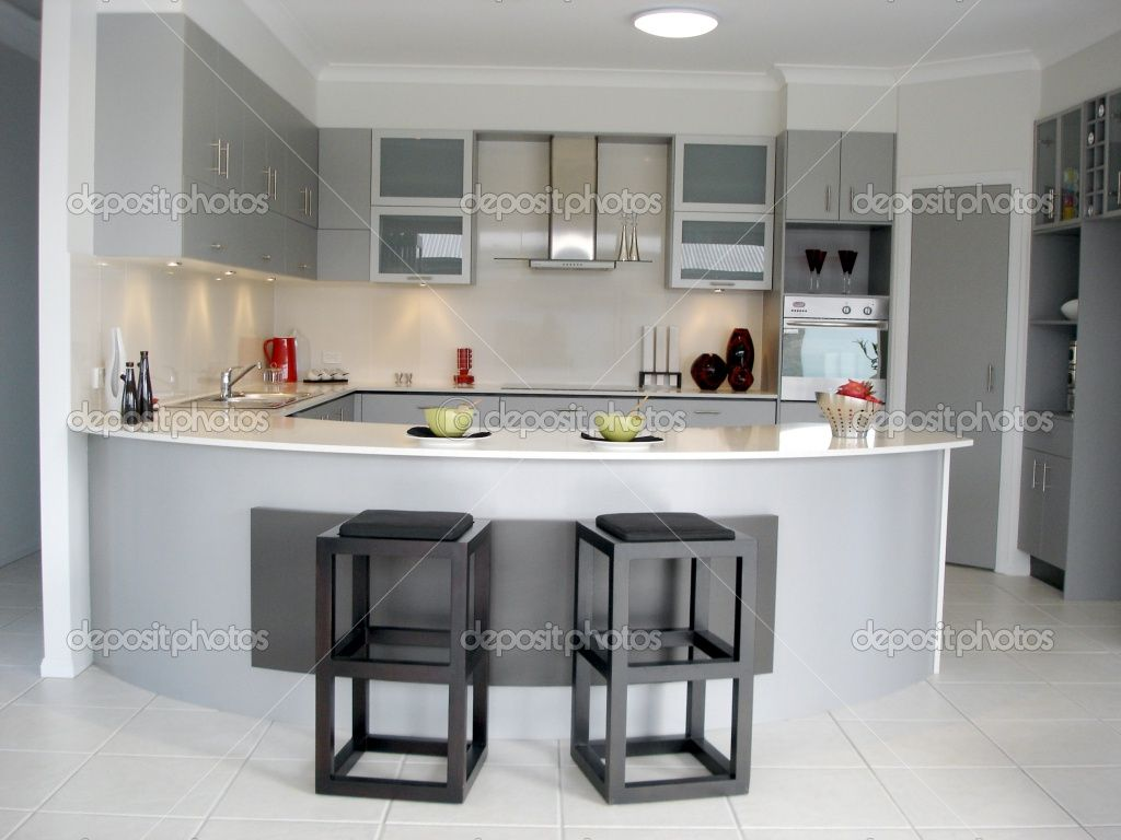 Charm Deposit Delightful Open Plan Kitchen With Breakfast Bar