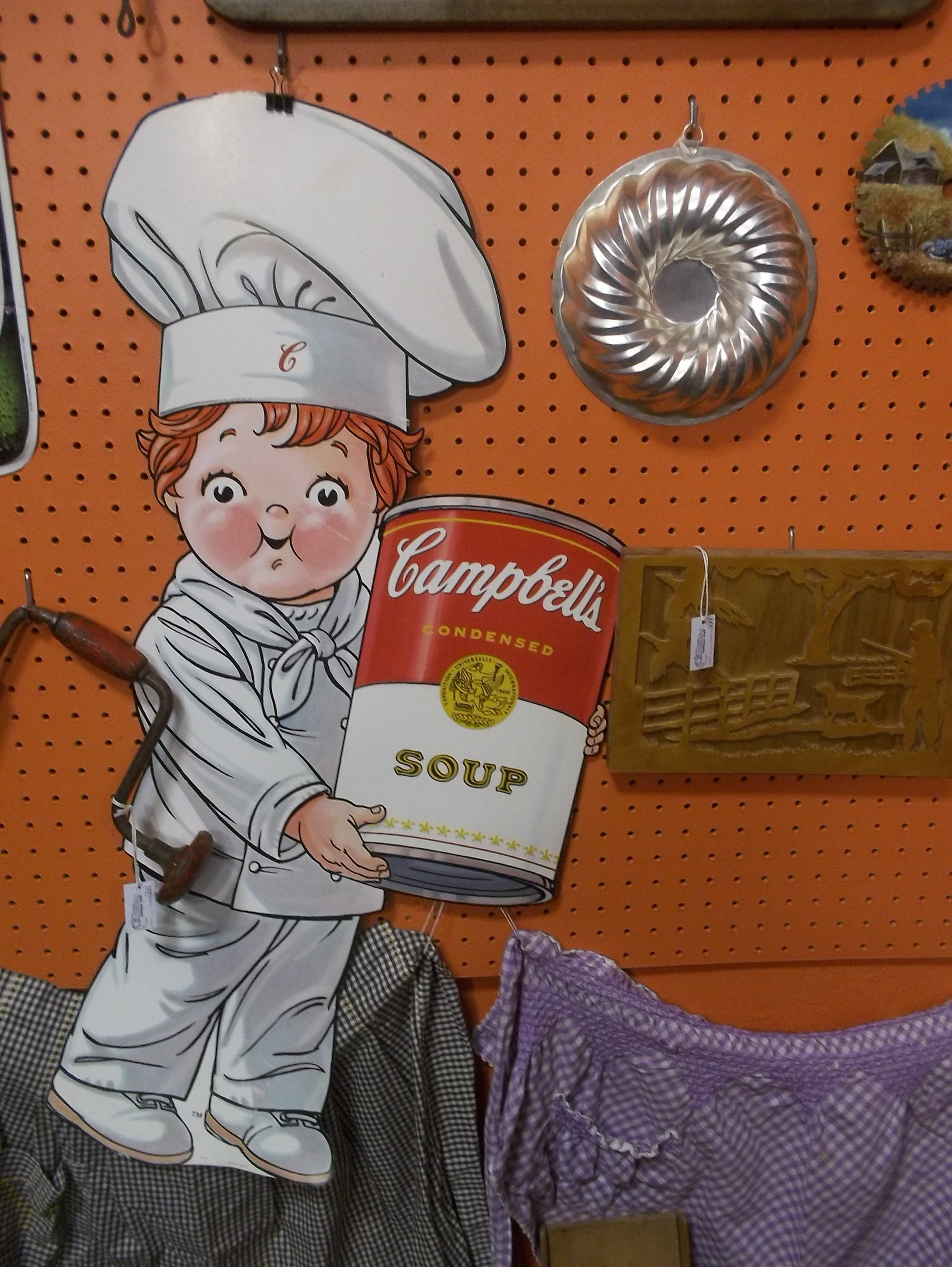 Campbells Soup kid! | Brass Armadillo Antique Mall Des Moines Iowa ...