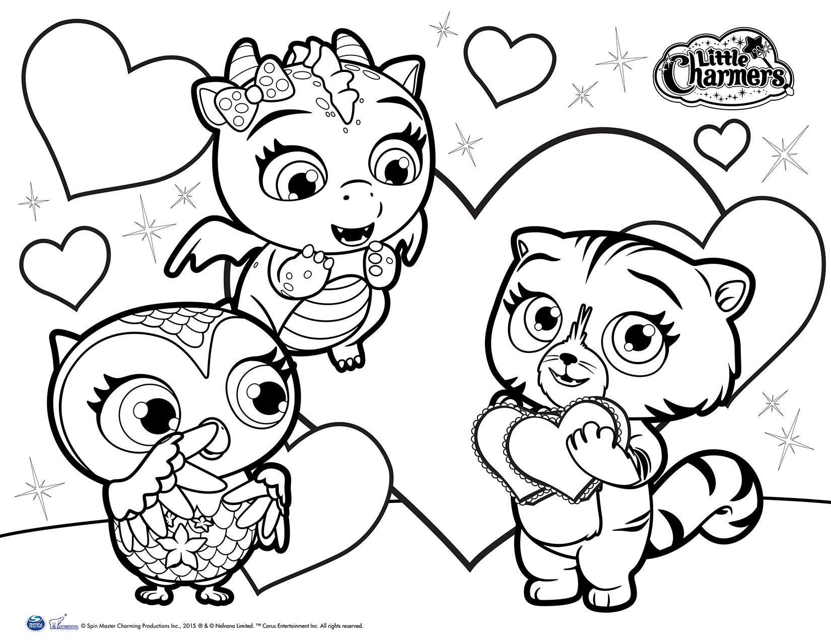 Pin By Kristina Hanes On Coloring Pages Little Charmers Owl Art