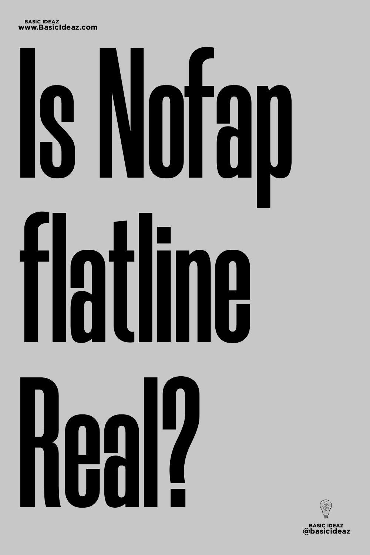 Nofap flatline depression