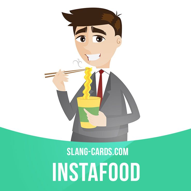 Instafood - minutes example