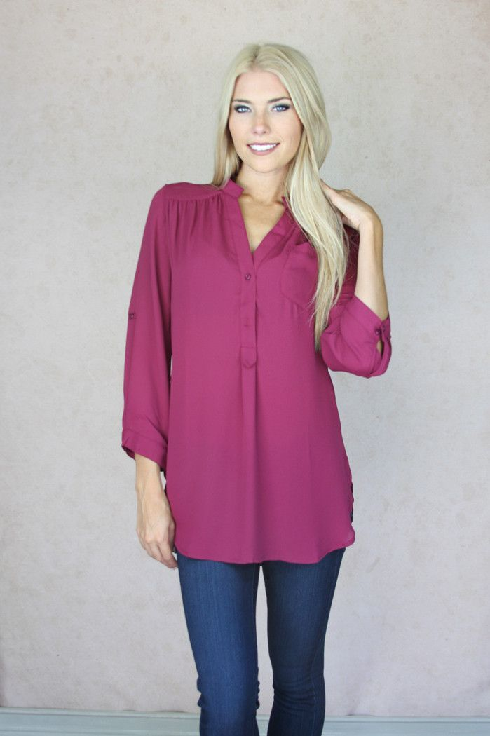 Inka Button Down Top